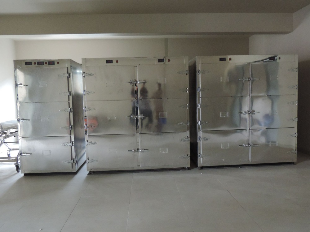 morgue freezer for sale corpses cold storage room temperature adjustable