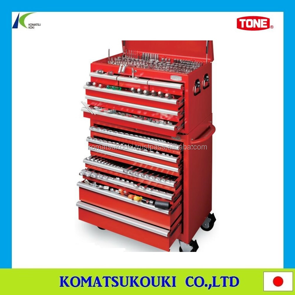 Multi-purpose TONE Tool case, tool box/chest/bag and work station also available, Made in Japan