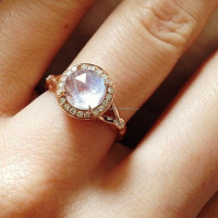 925 sterling silver jewelry wholesale rainbow moonstone rings