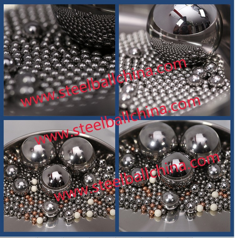 3.175mm-30mm 100Cr6 Chrome Steel Ball HRC60-66