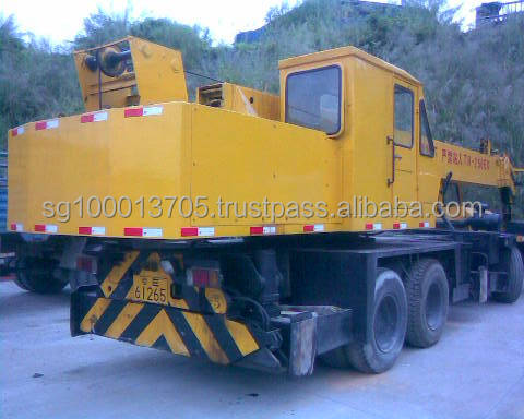 Used P&H KOBELCO T250 25T truck crane Nissan engine used PH cranes for sale