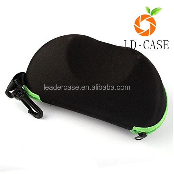 Modern design custom sunglass case black eyewear sunglasses protect box hard eva sun glasses
