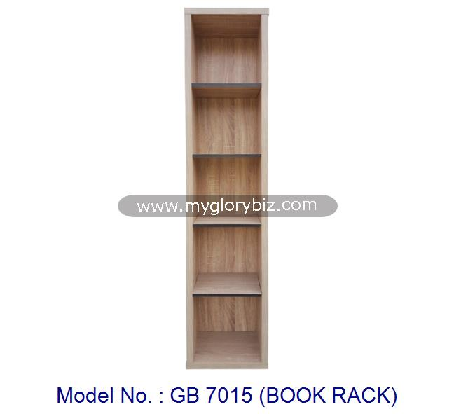 Wooden Book Rack Home Furniture With Simplest Design Without Doors For Storage Cabinet Made In MDF Bookshelf