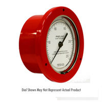 Depth Gauges and Pneumo Gauges - 201 Series - 4.5 Inch Dial - Perma-Cal Direct Drive Pressure Gauge