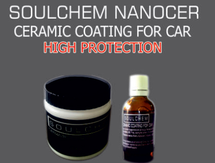 Soulchem Nanocer ceramic coating for car