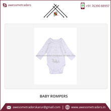 Buy 100% Cotton Short Sleeve Baby Romper Custom Eco-Friendly Organic Newborn Baby Bamboo Romper