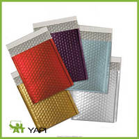 Reflective Metallized Foil Insulated Bubble Cushion Mailers/Insulated Bubble Packing Bag