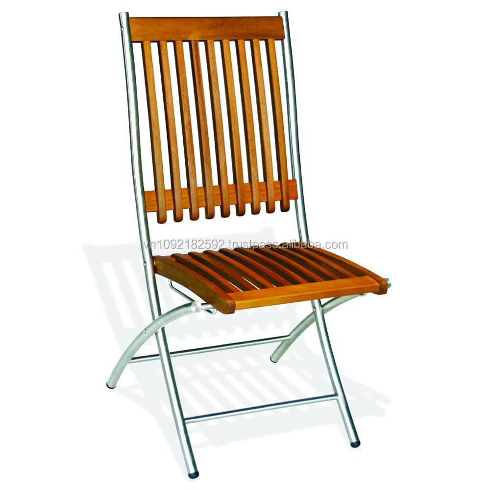 Palermo folding chair/stainless steel chairs/ outdoor chairs/ outdoor furniture