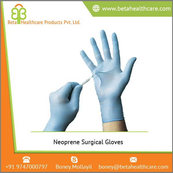 Gloves Made of Neoprene Available at Low Price for Medical Examination