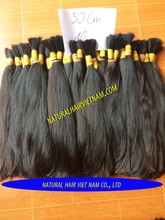 wholesale cheap 100% virgin Vietnam double drawn bulk hair