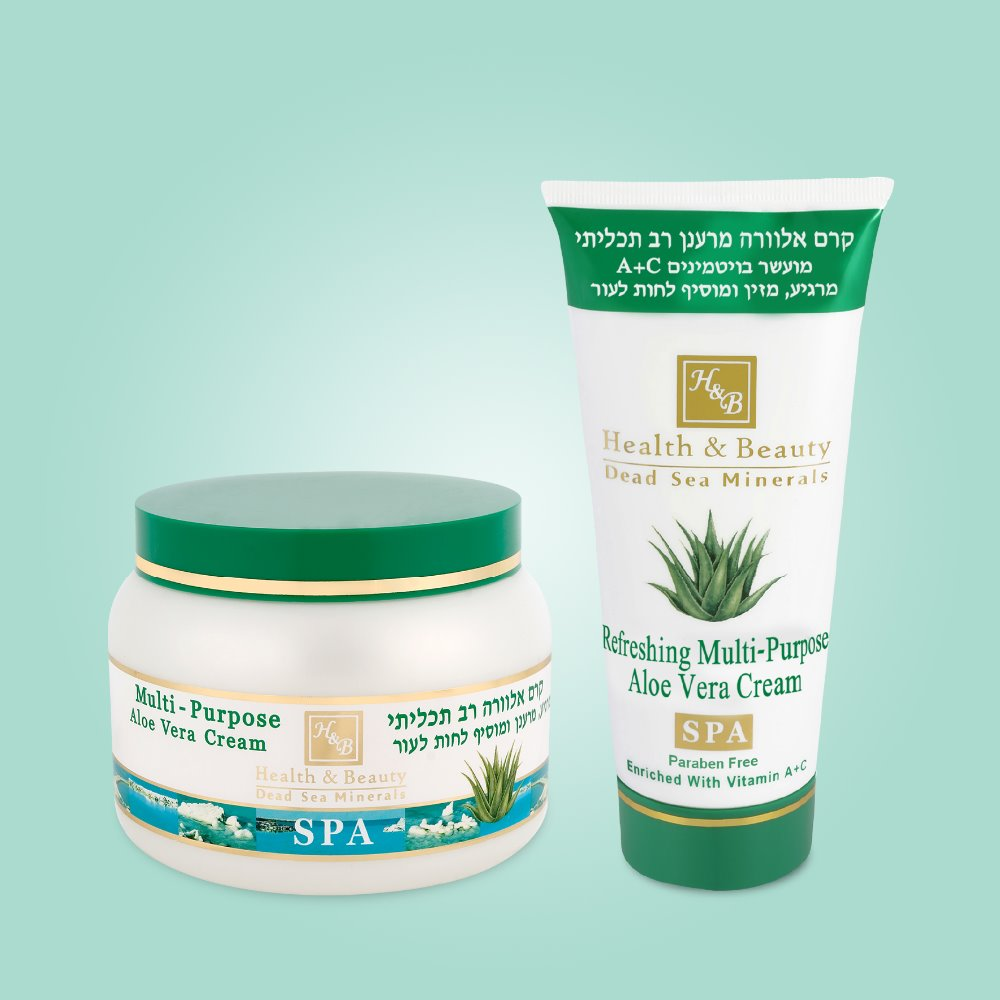 Refreshing Multi-purpose Aloe Vera cream 180ml