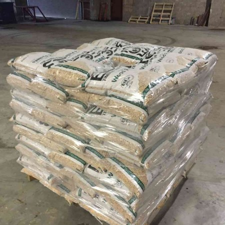 Wood Pellets 15Kg Bags for sale