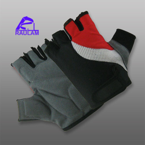 Custom outdoor sports bike riding half finger gloves for cycling 45