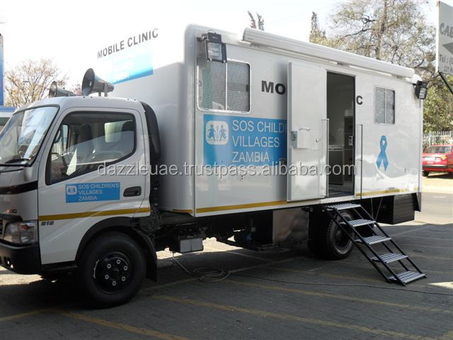 Brand New Hino Mobile Hospital