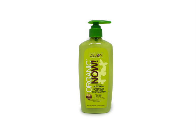 Delon Body Wash Organic Now, 325ml (Imported from Canada)