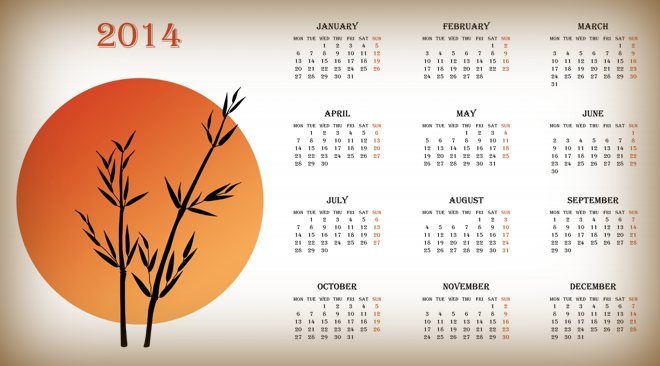 Wall calendar printing for office & home use