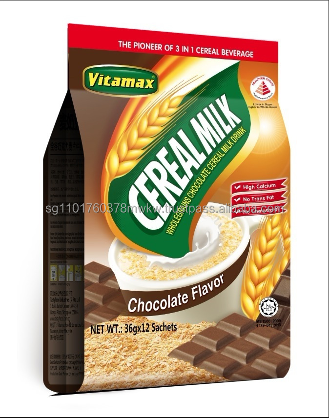 Vitamax 3 in 1 Cereal Milk Drink (Chocolate Flavor)