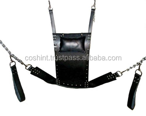 Adult Tube Toy Bondage Leather Hanging Love Chair Sex Swing V5 for Female Male Bondage Furniture Supplier | COSH INTERNATIONAL