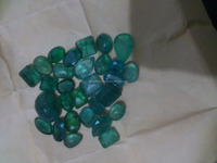 Natural loose Emerald lot from panjshir mines in afghanistan, 2- 4ct size mix in lot