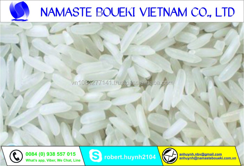 Vietnamese white rice good quality for all importer