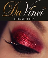 Red Eye Shadow - Da Vinci Cosmetics - Chemicals Free - Beautiful Colors
