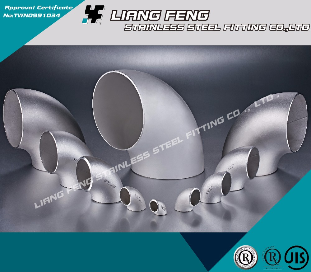 Strong pipe fitting lining plastic tee, ss 304 male female threaded elbow