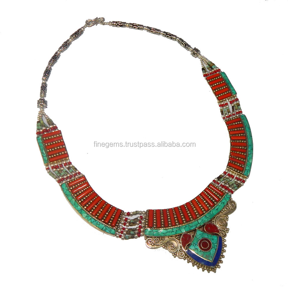 Antique necklace jewellery wholesale price jewellery