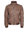 fashion leather jacket , Genuine sheep leather jacket for men , Winter Leather Jackets , Pakistan Original Pure Leather Jackets