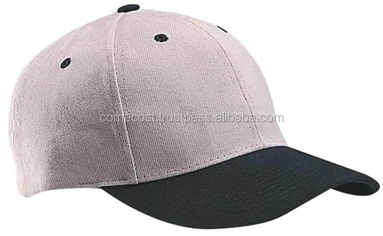 2017 Fashion Sample Free Hat Custom 6 Panel Cotton Promotional Baseball Cap