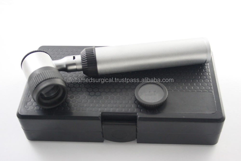 New Heine Design Mini Dermatoscope Set LED in Hard Case