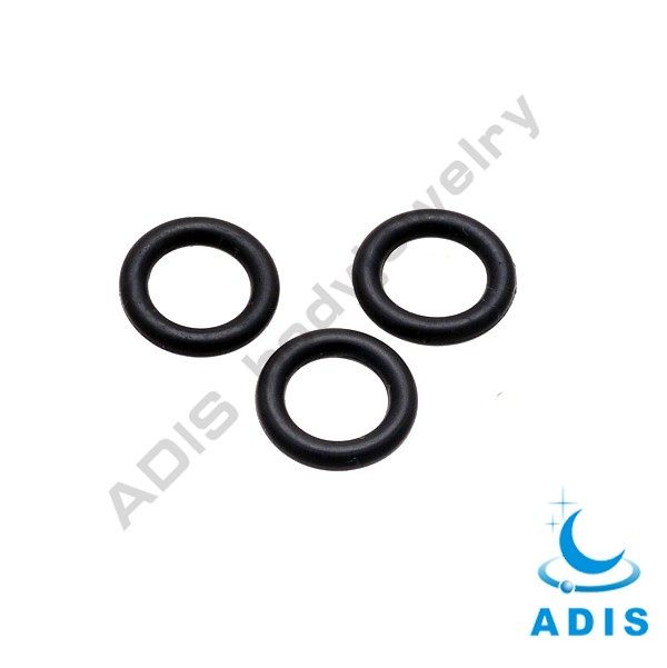 Wholesale black silicone o-ring