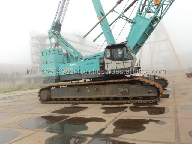 250 ton kobelco used hydraulic Crawler crane CKE2500 for sale