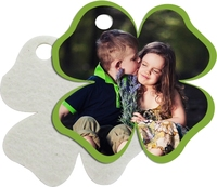 3mm perfume flower shaped key chain, sublimation printable key tag