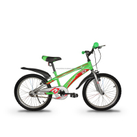 "ASOGO 20"" Inch Kids MTB Mountain Bike Bicycle Green"