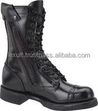 Leather Mans Militery Boots