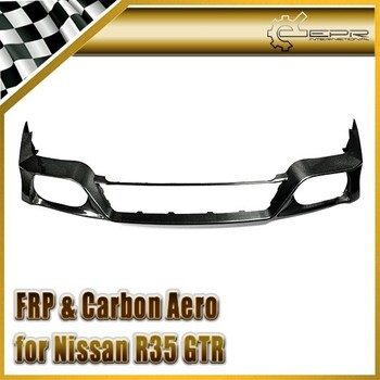 For Nissan R35 GTR GT-R 2012 on OEM Carbon Fiber Rear lip Rear Diffuser Bottom Body Kits