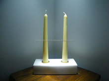 New Arrival 2016 cheap This unique double tapered candle holder is handcrafted from white marble