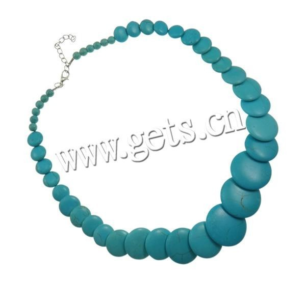 Gets.com 2015 synthetic turquoise silver squash blossom necklace