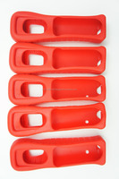 For Wii and Wii U Remote controller Silicon Sleeve Cover RED RVL-022