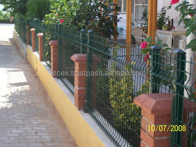 Garden Fence, Welded Wire Mesh, Garden PVC coated mesh