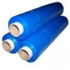 Blue Color Standard Hand Type Stretch Film 20 Mic (150% Pre-stretching)