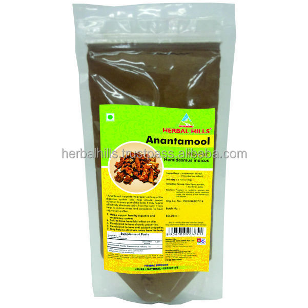 Anantmool Powder/Hemidesmus indicus for healthy digestive and Respiratory System100 gms