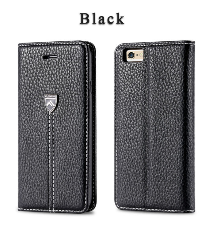 FLOVEME For IPhone Stylish Case, Private Label Leather Case For IPhone 6, Leather Flip Case For IPhone 6 Plus