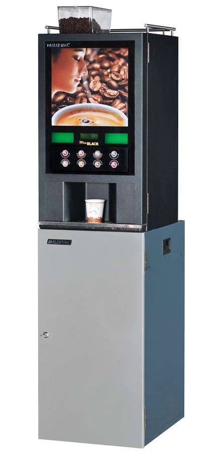 Coffee & Tea Vending Machine - Mini Black Espresso - Coming Soon