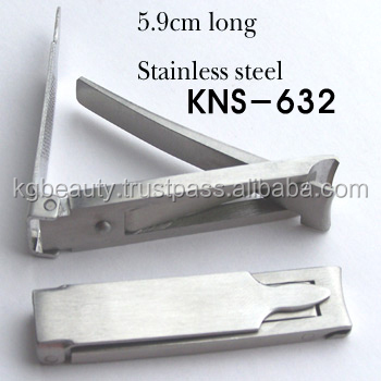 Stainless steel Nail clipper-5