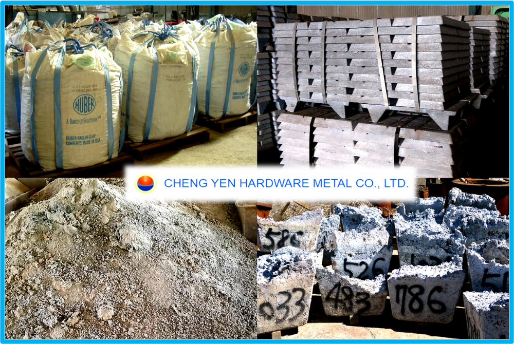 high purity zinc ash