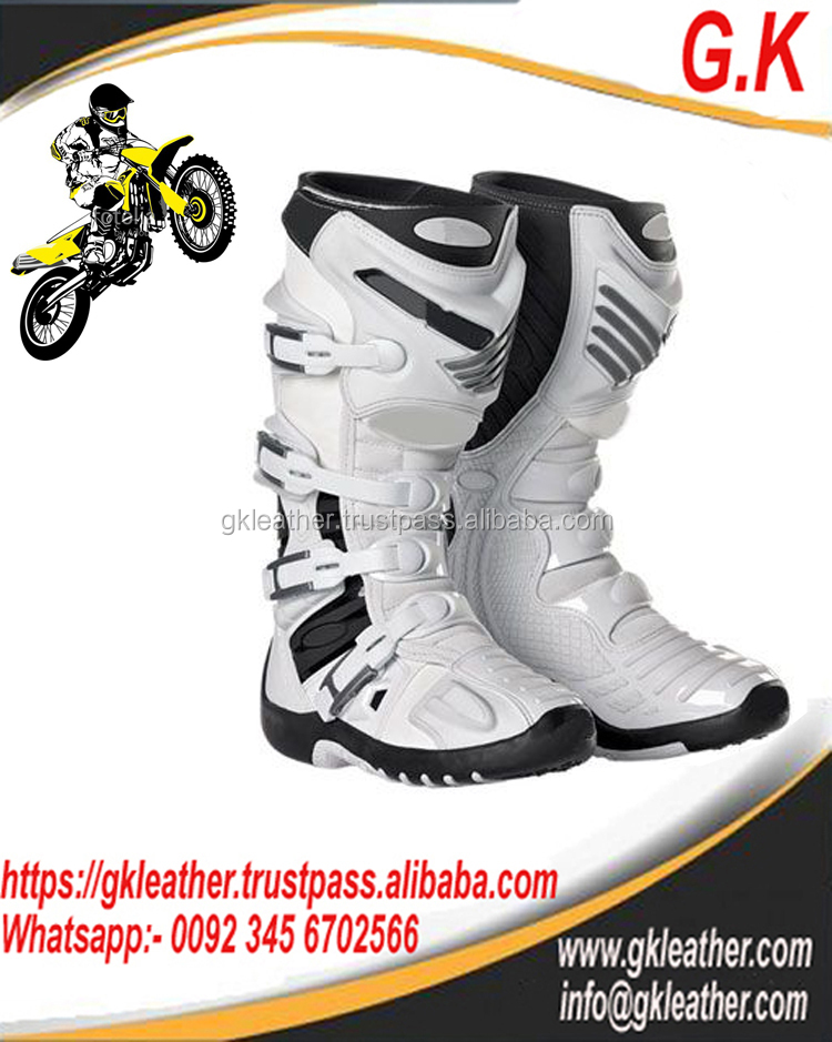 Professional Motocross Boot/Mens Boot/Top Quality Boot/Racing Boot/Motocross Boot New Design 2017
