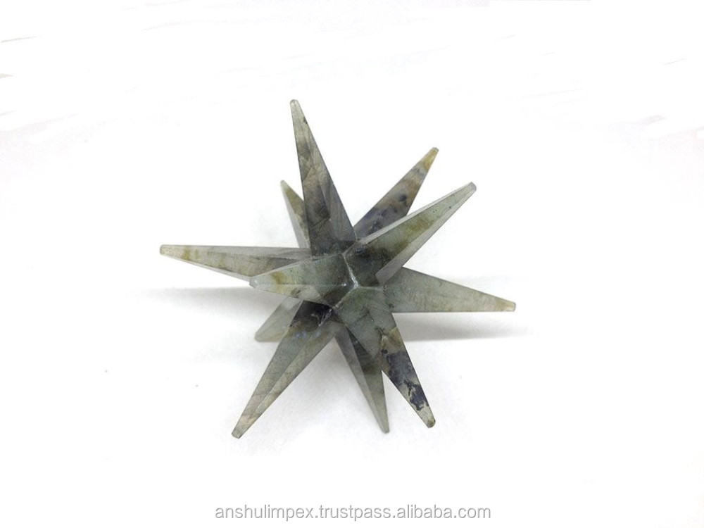 Wholesale merkaba stars Labradorite 12 point merkaba stars, wholesale platonic solids.