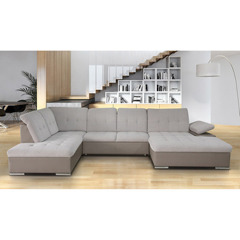 Corner sofa bed with storage Prado