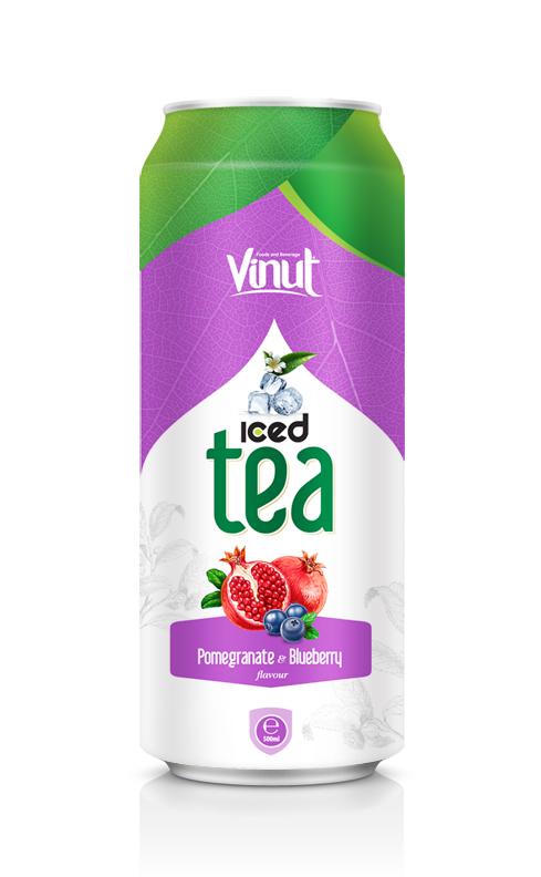 500 Iced tea Pomegranate with Blueberry flavour